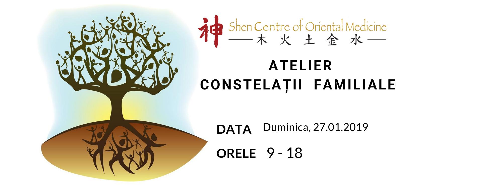 Atelier – Constelații familiale  – 19 Mai